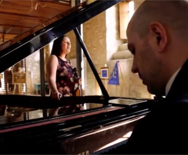 Violin and Piano for Wedding in Sicily - Classical, jazz and swing